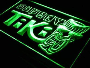 Freaky Tiki Bar Neon Sign (LED)-Way Up Gifts