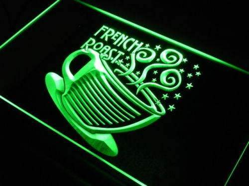 French Roast Coffee LED Neon Light Sign - Way Up Gifts