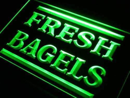 Fresh Bagels Lure LED Neon Light Sign - Way Up Gifts