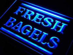 Fresh Bagels Lure LED Neon Light Sign