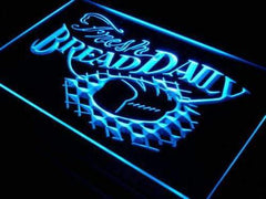 Fresh Bread Daily LED Neon Light Sign