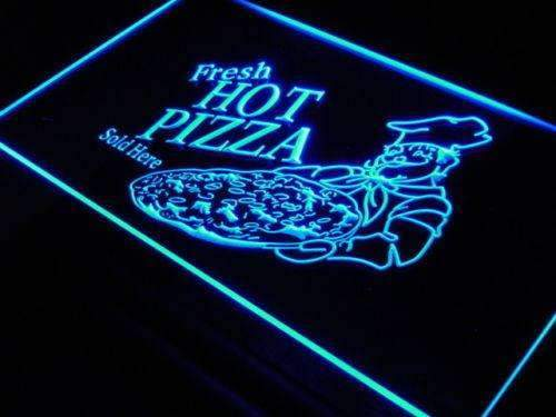 Fresh Hot Pizza LED Neon Light Sign - Way Up Gifts