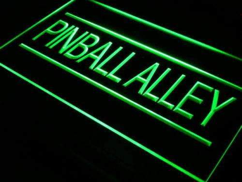 Game Room Arcade Pinball Alley LED Neon Light Sign - Way Up Gifts