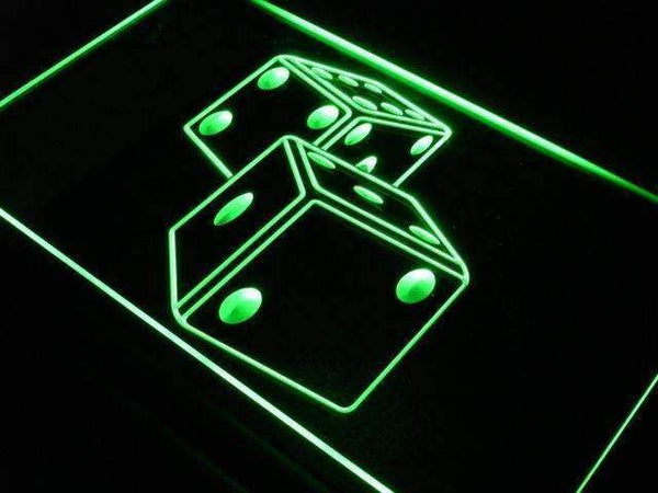 Game Room Dice LED Neon Light Sign - Way Up Gifts