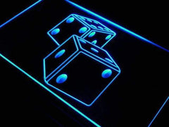 Game Room Dice LED Neon Light Sign