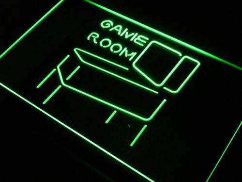 Game Room Pinball LED Neon Light Sign - Way Up Gifts