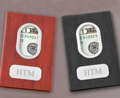 Personalized Modern Minimalist Money Clip