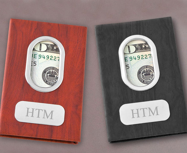 Personalized Modern Minimalist Money Clip - Way Up Gifts
