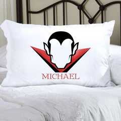 Personalized Halloween Character Pillowcase- Dracula