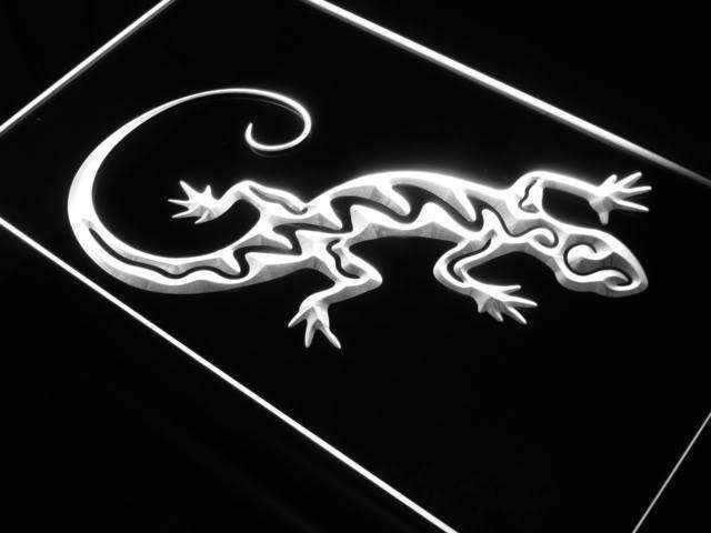 Gecko Lizard LED Neon Light Sign - Way Up Gifts