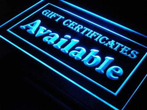 Gift Certificates Available LED Neon Light Sign - Way Up Gifts