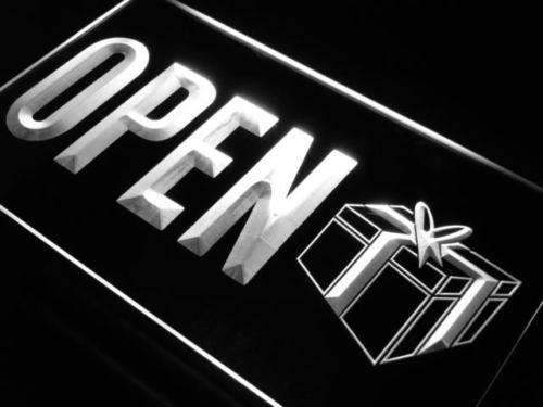 Gift Shop Open LED Neon Light Sign - Way Up Gifts