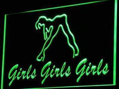 Girls Night Club LED Neon Light Sign - Way Up Gifts