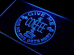 Give Me Coffee LED Neon Light Sign