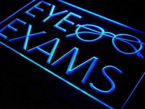 Glasses Eye Exams LED Neon Light Sign - Way Up Gifts
