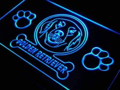 Golden Retriever Dog LED Neon Light Sign - Way Up Gifts