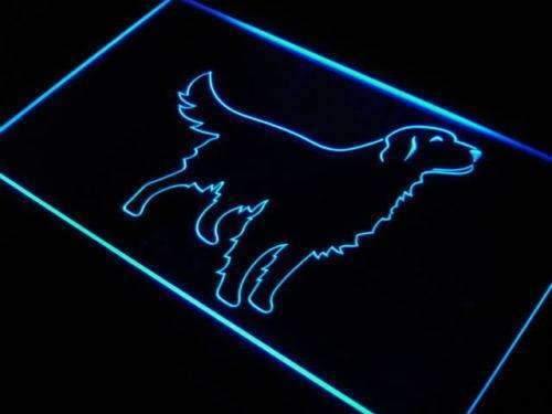 Golden Retriever LED Neon Light Sign - Way Up Gifts