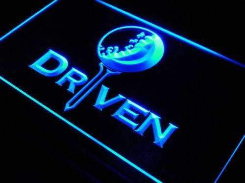 Golf Ball Driven LED Neon Light Sign - Way Up Gifts