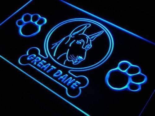 Great Dane Dog LED Neon Light Sign - Way Up Gifts