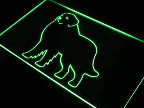 Great Pyrenees Dog LED Neon Light Sign - Way Up Gifts