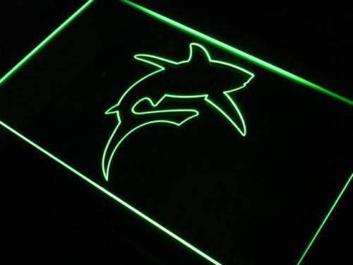 Great White Shark Decor LED Neon Light Sign - Way Up Gifts