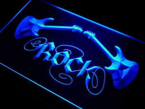Guitars Rock n Roll LED Neon Light Sign - Way Up Gifts