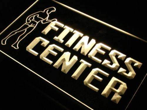 Gym Fitness Center LED Neon Light Sign - Way Up Gifts
