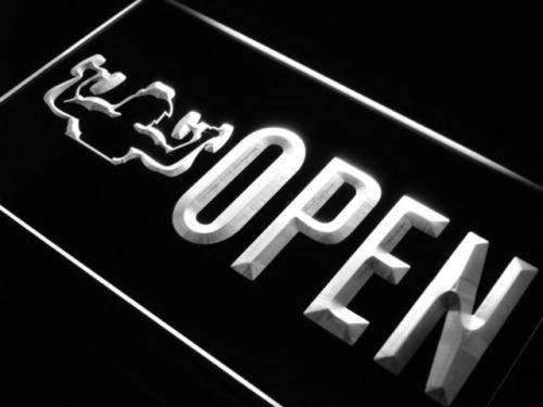 Gym Fitness Center Open LED Neon Light Sign - Way Up Gifts