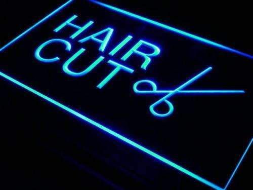 Hair Cut Scissors LED Neon Light Sign - Way Up Gifts