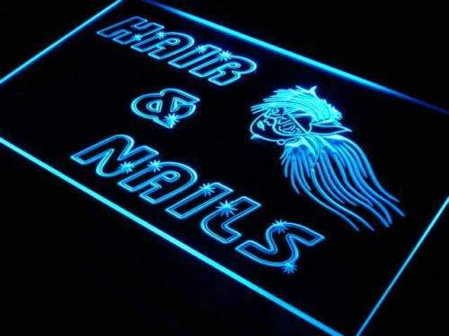 Hair Nails Salon LED Neon Light Sign  Business > LED Signs > Uncategorized Neon Signs - Way Up Gifts