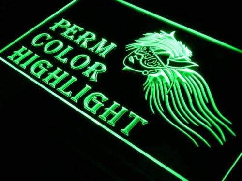 Hair Salon Perm Color Highlight LED Neon Light Sign - Way Up Gifts