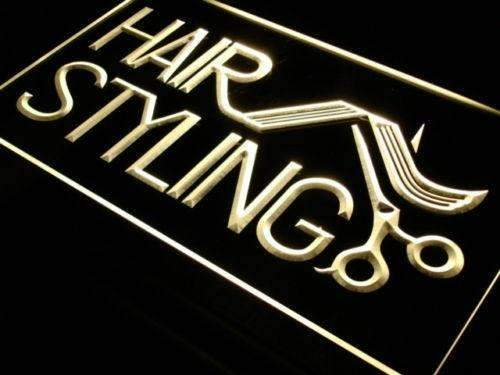 Hair Salon Styling LED Neon Light Sign - Way Up Gifts
