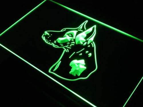 Harlequin Great Dane LED Neon Light Sign - Way Up Gifts