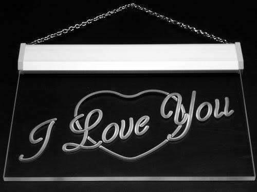 Heart I Love You LED Neon Light Sign - Way Up Gifts