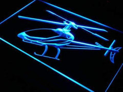 Helicopter LED Neon Light Sign