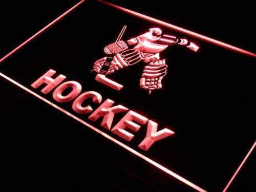 Hockey Goalie LED Neon Light Sign - Way Up Gifts