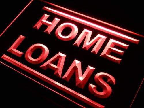 Home Loans LED Neon Light Sign - Way Up Gifts