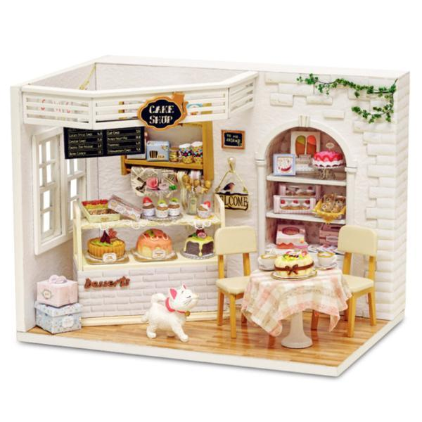 Dollhouse Furniture & Home DIY Kit - Cake Shop - Way Up Gifts