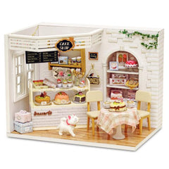 Dollhouse Furniture & Home DIY Kit - Cake Shop