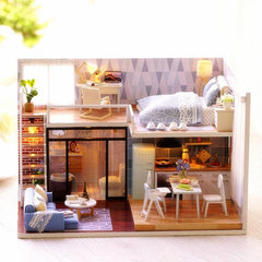 Dollhouse Furniture & Home DIY Kit - Dream Loft