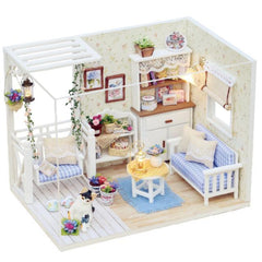 Dollhouse Furniture & Home DIY Kit - Kitten Life