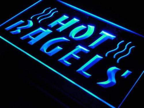 Hot Bagels LED Neon Light Sign - Way Up Gifts
