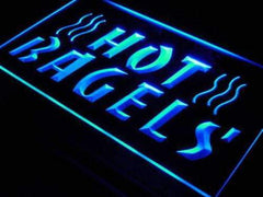 Hot Bagels LED Neon Light Sign