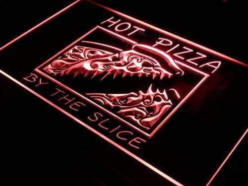 Hot Pizza by the Slice LED Neon Light Sign - Way Up Gifts