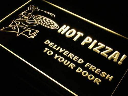 Hot Pizza Delivery LED Neon Light Sign - Way Up Gifts