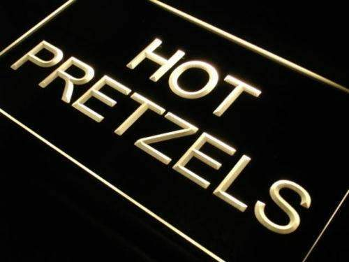Hot Soft Pretzels LED Neon Light Sign - Way Up Gifts