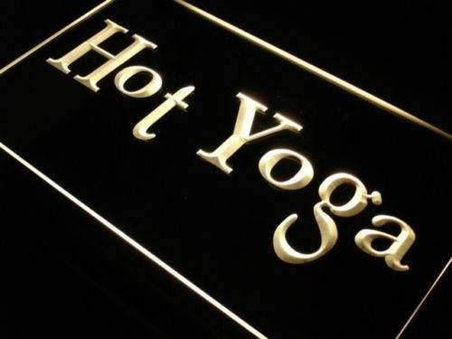 Hot Yoga LED Neon Light Sign - Way Up Gifts