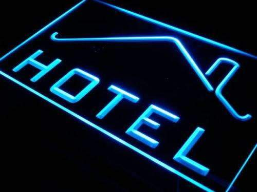 Hotel LED Neon Light Sign - Way Up Gifts