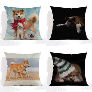 Akita Pillow (Photo Print)