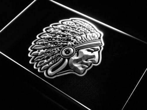 Indian Chief LED Neon Light Sign - Way Up Gifts